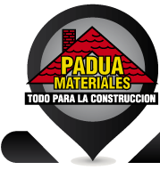 Padua Materiales Logotipo Isologotipo
